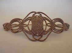 "macrame bracelet ""Sacred geometry"""
