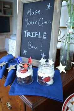 How to Make Your Own Trifle Bar! via Lauren Nicole Designs
