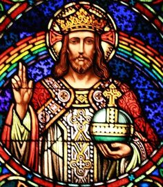 Happy Feast Day of CHRIST THE KING! November 22 #pinterest  Almighty, everlasting God, Who in Thy beloved Son, King of the whole world, hast willed to restore all things anew; grant in Thy Mercy that all the families of nations, rent asunder by the wound of sin, may be subjected to His most gentle rule. Who with Thee lives and reigns world without end. Amen...............  Awestruck Catholic Social Network