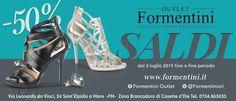 Ancora SALDI ESTIVI da #FormentiniOutlet! www.formentini.it
