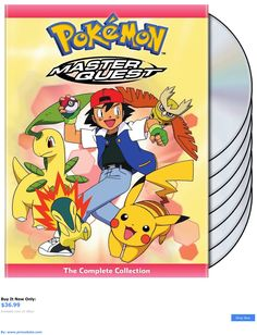 cds dvds vhs: Pokemon: Master Quest Series The Complete Collection Box / Dvd Set New! BUY IT NOW ONLY: $36.99 #priceabatecdsdvdsvhs OR #priceabate