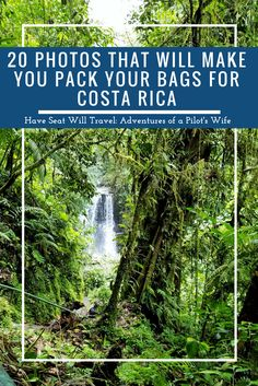 Whether you're looking to spend time in the rainforest or at the beach, Costa Rica is a great choice for your next vacation! Ready to pack your bags?
