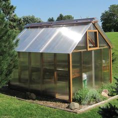 DIY Multiwall Polycarbonate Hobby Greenhouse