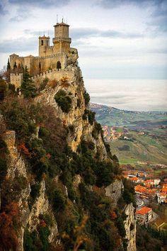 San Marino, Italy (500×750)