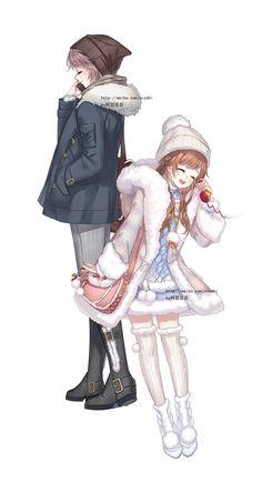 Love Nikki - Dress Up Queen Photo: ~Love Nikki~ Hatsune Miku, Nikki Love, Anime Artwork, Cute Anime Couples, Anime Outfits, Anime Style, Anime Love, Kawaii Anime, Anime Characters
