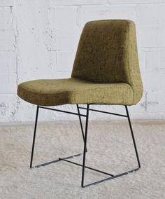 Louis Paolozzi; Enameled Metal Side Chair, 1950s.