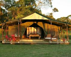 ELEPHANT PEPPER CAMP - Situated right on the Northern Edge of the Masai Mara reserve this 8-tented bush camp is tucked away in a prime wildlife area. Surrounded by the Mara's ubiquitous game. The camp offers a unique, comfortable environment and is aptly named after the Warburgia Ugandense tree, which is commonly known as the Elephant Pepper tree