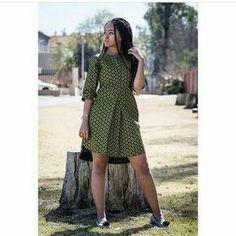 Shirt dress dashiki dress African Print dress Ankara