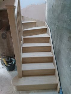 Lovely Oak Staircase With Feature Tread Timber Staircase, Wooden Staircases, Stairs, Stair Supplies, Stair Builder, Staircase Manufacturers, Minimalist, Design, Home Decor