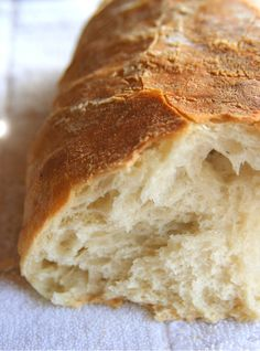 I love bread and this Homemade Levain [a sour dough bread essentially] sounds awesome and easy!