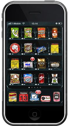Vending Machine™ Theme for iPhone #iphone #ipod #theme #winterboard #jailbreak