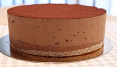 Royal au chocolat ou trianon Chocolate Desserts, Melting Chocolate, Mom Cake, Thermomix Desserts, Pecan Nuts, Mousse Cake, Latest Recipe, Eat Dessert First, Something Sweet
