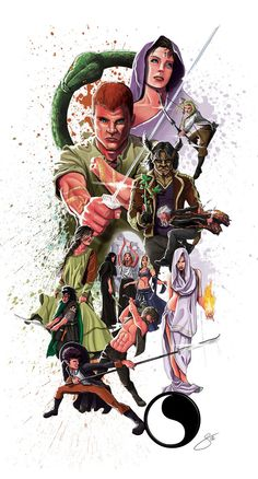 Wheel of Time - The good guys by ~xxEasyRiderxx