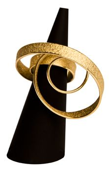 ute decker - sculptural rings, architectural rings, architectural jewellery…