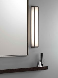 The Mashiko LED wall light by Astro Lighting Hallway Lighting, Bedroom Lighting, Interior Lighting, Kitchen Lighting, Modern Lighting, Led Wall Lights, Mirror With Lights, Ceiling Lights, Desk Light