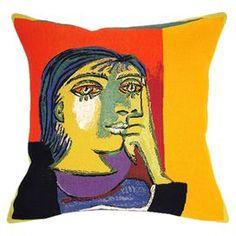 Dora Maar Pillow, by Picasso