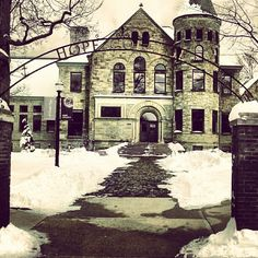 Hope College's Graves Hall in Downtown Holland, MI | www.DowntownHolland.com