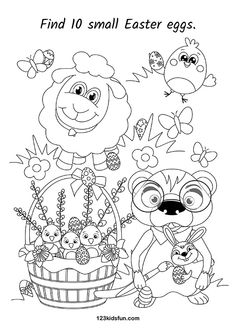 NEW - Free Easter Printables for Kids. Preschool Math Games, Free Activities For Kids, Learning Games For Kids, Educational Games For Kids, Easter Activities, Infant Activities, Free Preschool, Preschool Learning, Easter Worksheets