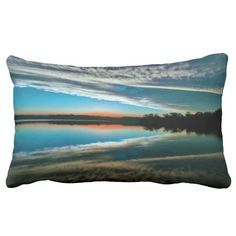 Sky Reflections Throw Pillows
