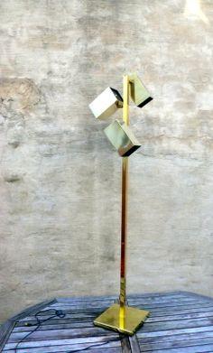 Koch + Lowy Brass Floor Lamp in Fishtown, Philadelphia, PA, USA ~ Krrb