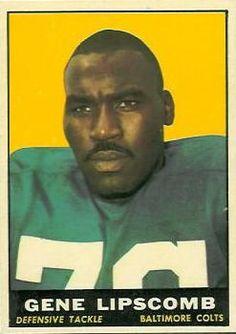 8 - Gene Lipscomb - Baltimore Colts