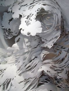 Amazing papercutting - Mia Pearlman via Alabama Chanin