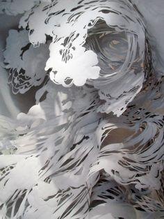 Amazing papercutting - Mia Pearlman via Alabama Chanin