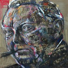 BIOGRAPHICAL PORTRAIT, LUDWIG ERHARD, COMMISSION OF GERMAN CHANCELLOR, 2012