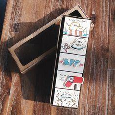ALLE Anlass Matchbox-Karten-Set  Set 5 / Karten für jeden