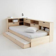 Cama con cajón, compartimentos y somier yann  La Redoute Interieurs  | La Redoute