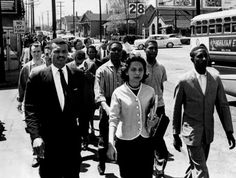 """Diane Nash: Leader and strategist of the 1960s Civil Rights Movement. A historian described her as: """"…bright, focused, utterly fearless, with an unerring instinct for the correct tactical move at each increment of the crisis; as a leader, her instincts had been flawless, and she was the kind of person who pushed those around her to be at their best—that, or be gone from the movement."""""""