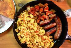 Cornbread and Eggs Recipe | Our State Magazine