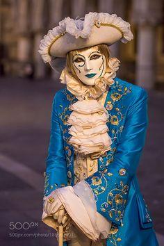 Venice-Carnival - by steve-lange Italy Venice Carnival Costumes Masks steve-lange Venetian Costumes, Venice Carnival Costumes, Venetian Carnival Masks, Carnival Of Venice, Venetian Masquerade, Masquerade Costumes, Masquerade Ball, Venice Carnivale, Venice Mask