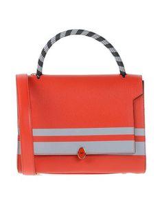 ANYA HINDMARCH Handbag. #anyahindmarch #bags #shoulder bags #hand bags #leather #satchel #lining #