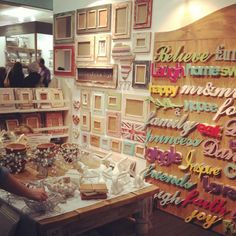 Dassie pop up store 2012 London Country Living