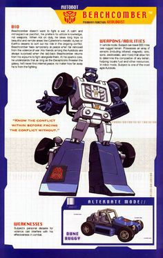 Transformer of the Day: Beachcomber