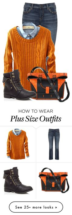 """""""Untitled #13064"""" by nanette-253 on Polyvore featuring Silver Jeans Co. and Carianne Moore"""