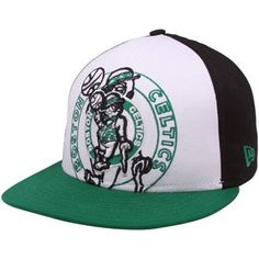 Double logo Celtics Snapback, big logo = big statement for the Celtics!