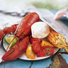 Dinner for Two: Steamed Lobster. Also shows tips on the best way to extract meat from a lobster!