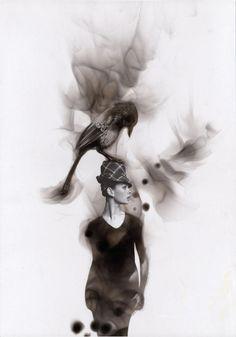 Steven Spazuk - Soot Paintings