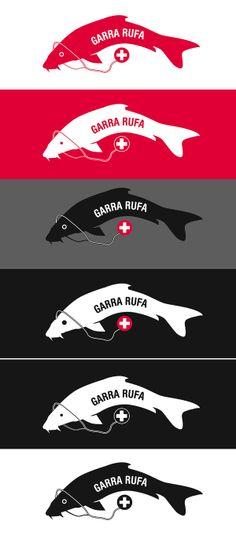 Garra Rufa by Polkapixel , via Behance
