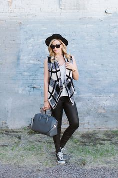 A Little Dash of Darling: Checkered Vest