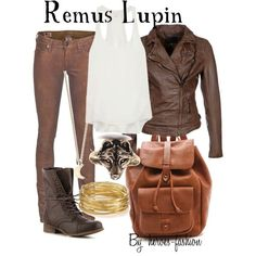 Remus Lupin 'Harry Potter'-inspired outfit