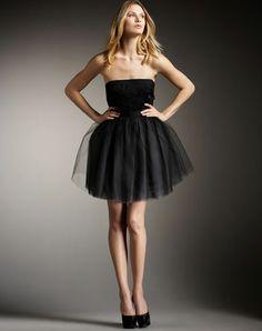 Phoebe couture black tutu dress