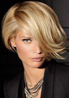 Elegancki krótki blond! Nie będziesz chciała nic innego!