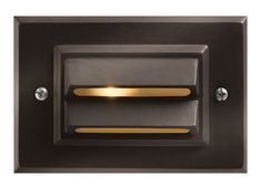 Hinkley Lighting 1546BZ-LED Signature 12V 1.5 watt Bronze Landscape Deck in LED Horizontal