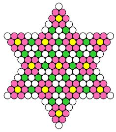 Flower Star bead pattern