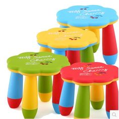 Children's tables and chairs. The plum blossom stool