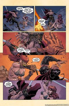 Conan Red Sonja 001 (2015) …………………… | Viewcomic reading comics online for free