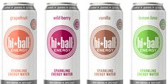 Hiball Energy Drink, Package Design